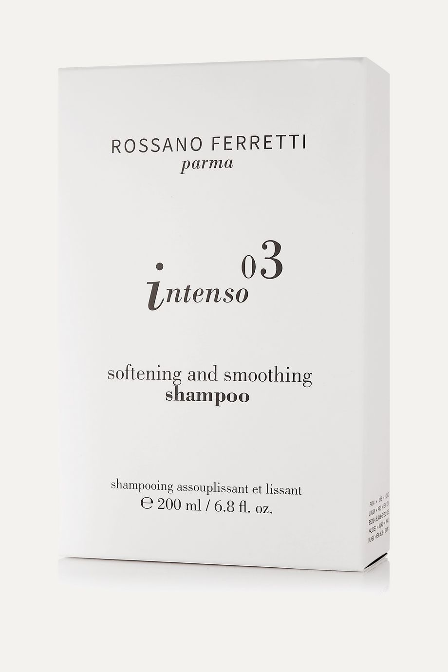 ROSSANO FERRETTI Parma Intenso Softening and Smoothing Shampoo, 200ml