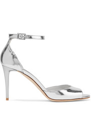 Jimmy Choo Annie metallic leather sandals