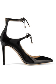 Jimmy Choo Sage 100 patent-leather pumps