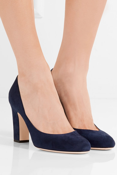 ff74f308db3d Jimmy Choo. Billie 85 suede pumps