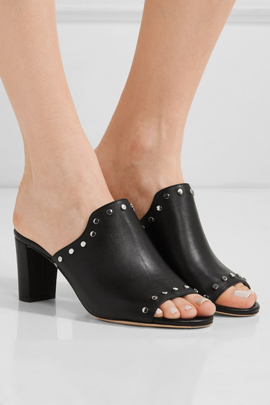 Jimmy Choo Suede Studded Mules great deals cheap online low price h2V7gOiy