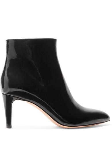 Gianvito Rossi 70 Ankle Boots aus Lackleder 2018 Neueste Billig Verkauf 100% Garantiert Günstigster Preis 5ML0HKIHy7