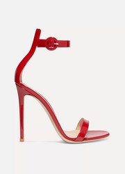 Gianvito Rossi Portofino patent-leather sandals