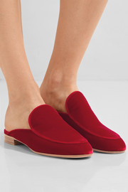 Gianvito Rossi Velvet slippers