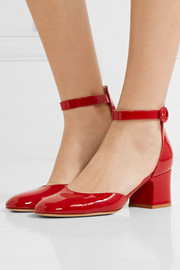 Gianvito Rossi Patent-leather Mary Jane pumps