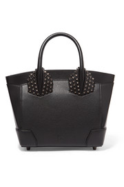 Christian Louboutin Eloise small spiked textured-leather tote