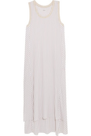 City Stripes stretch-modal jersey nightdress