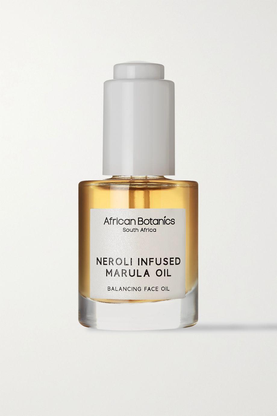 African Botanics + NET SUSTAIN Neroli Infused Marula Oil – Balancing Face Oil, 30 ml – Gesichtsöl