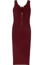 McQ Alexander McQueen Cutout stretch-knit dress