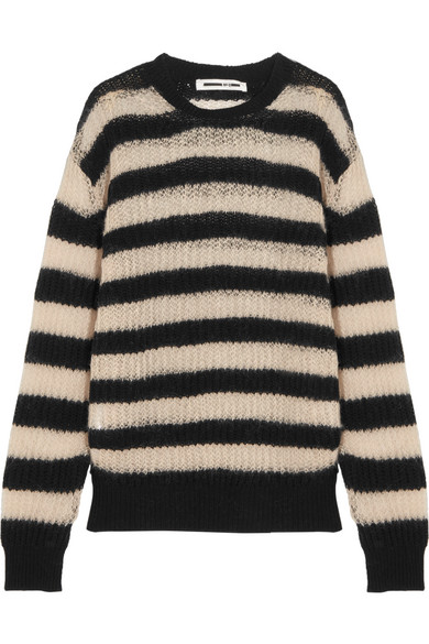 Wool Mcq Striped Alexander Mcqueen Sweater Blend qq6tT