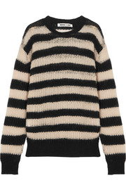 McQ Alexander McQueen Striped wool-blend sweater