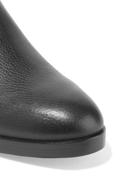 3.1 Phillip Lim Alexa Ankle Boots aus strukturiertem Leder und Veloursleder Billig Verkauf Versorgung sRsJvWrCK