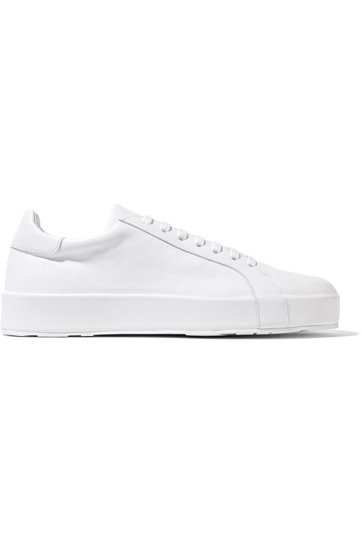 Jil Sander Leather sneakers