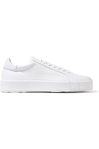 SanderLeather Net Porter Jil A Sneakers com f76gYvIbym