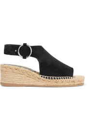 rag & bone Calla suede espadrille wedge sandals