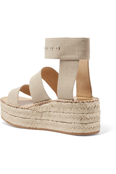 3404f4349bfd rag   bone. Tara canvas espadrille platform sandals.  180. Zoom In