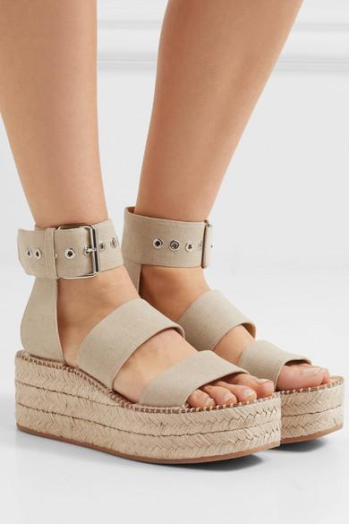 115714fa0398 rag   bone. Tara canvas espadrille platform sandals