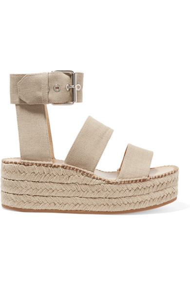 9f731cca10e0 rag   bone. Tara canvas espadrille platform sandals