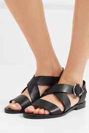 Brie leather sandals