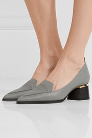 Nicholas Kirkwood Beya textured-leather pumps
