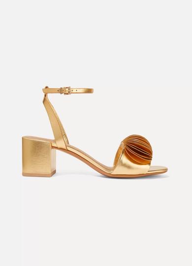 Mercedes Castillo Leather Sandal geq4aJtI2z