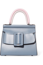 Karl 24 small buckled leather tote