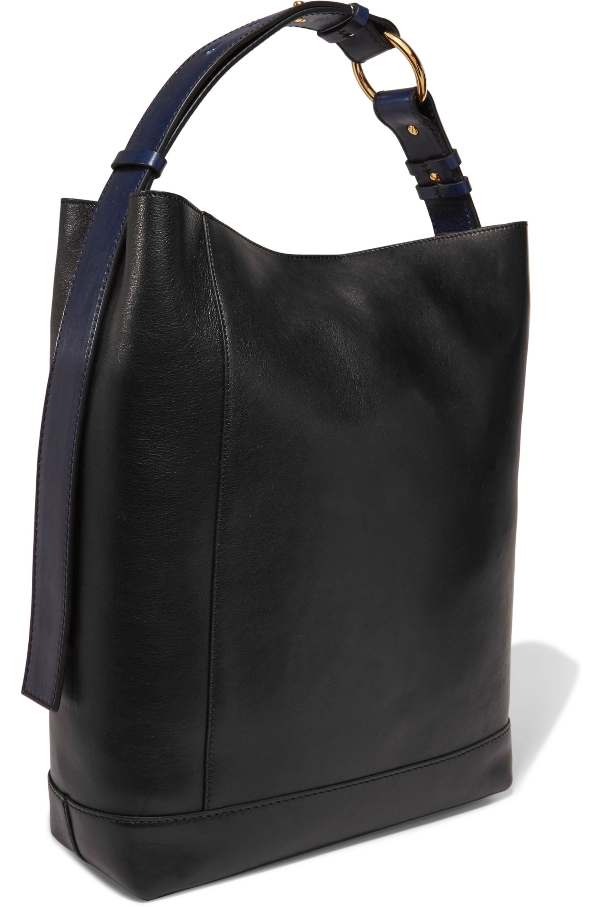 Marni Halo Pod two-tone leather tote