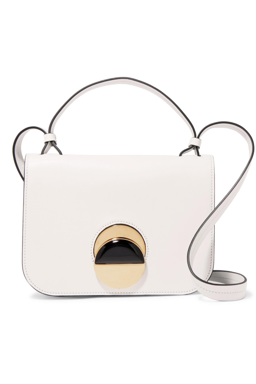 Marni Pois leather shoulder bag