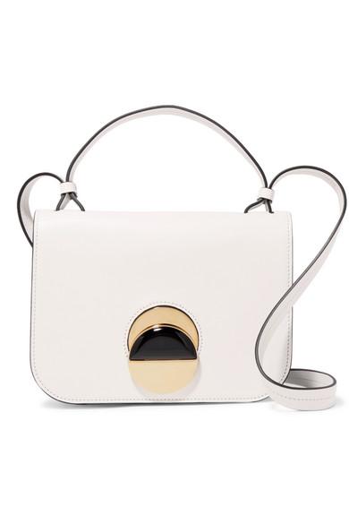 Marni - Pois Leather Shoulder Bag - White