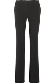 Serge crepe flared pants