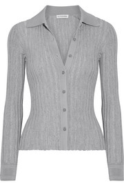 Altuzarra Campbell ribbed-knit cardigan