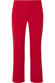 Altuzarra Nettle cropped crepe flared pants