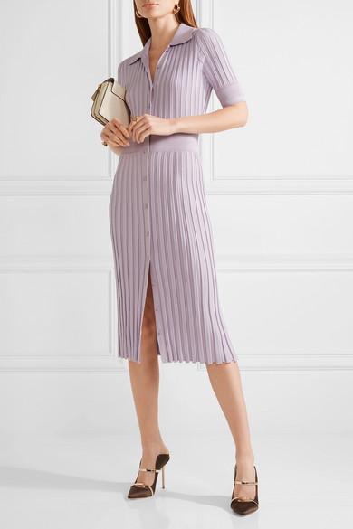 AltuzarraOlivia Stretch A Net Ribbed Porter Knit Dress com P8Onk0wXN