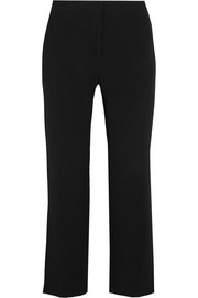 Nettle cropped crepe flared pants