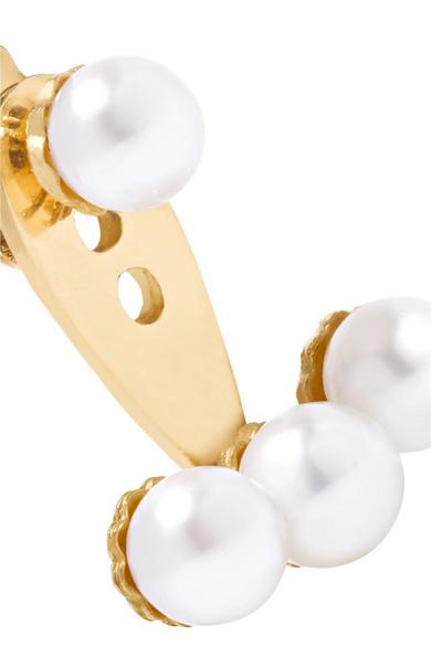 Yvonne Léon 18-karat Gold Pearl Earring dgCfhtrkt1