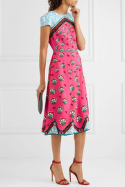 Mary Katrantzou Osmond printed crepe midi dress