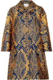 Mary Katrantzou Spence oversized jacquard coat