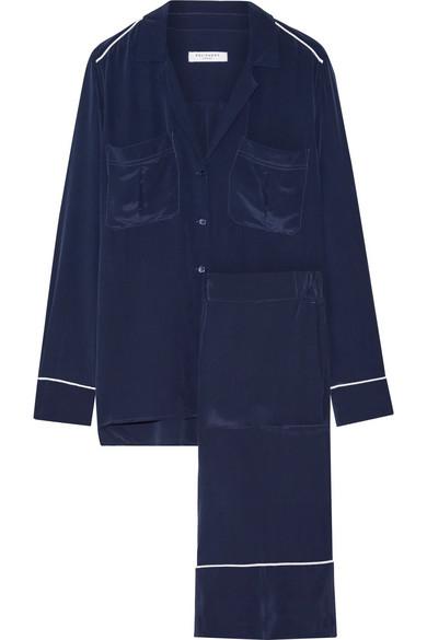 Equipment. Sonny washed-silk pajama set 2e154fa96