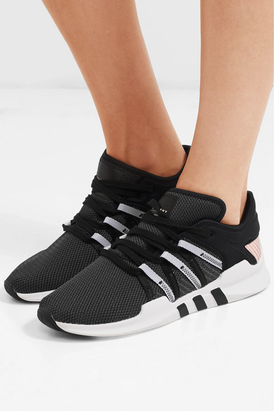 16e1f47c8da804 adidas Originals. EQT Racing ADV stretch-knit and neoprene sneakers