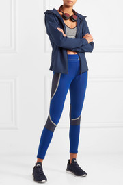 Adidas by Stella McCartney Color-block Climaheat stretch leggings