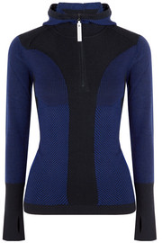 Adidas by Stella McCartney Run Ultra knitted hooded top