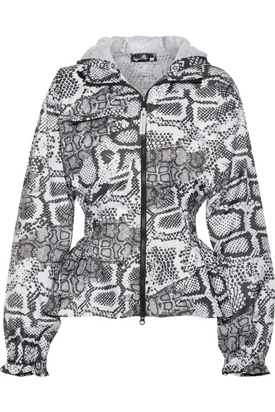 ADIDAS BY STELLA MCCARTNEY - Climastorm Printed Shell Jacket - Gray
