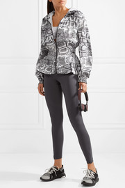 Adidas by Stella McCartney Climastorm printed shell jacket