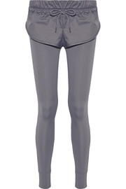 Adidas by Stella McCartney Layered shell and stretch leggings