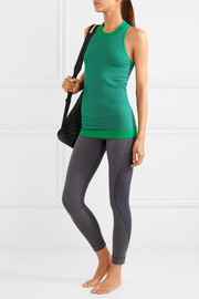 Adidas by Stella McCartney Climalite ribbed-knit tank