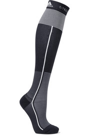 Adidas by Stella McCartney Striped stretch knee socks