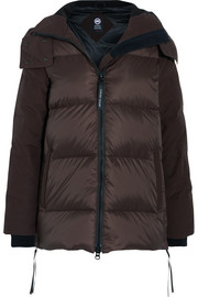 Canada Goose Whitehorse hooded twill-trimmed quilted shell jacket