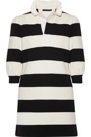 Marc Jacobs Striped jersey mini dress