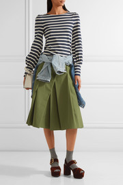 Marc Jacobs Striped cotton-jersey top