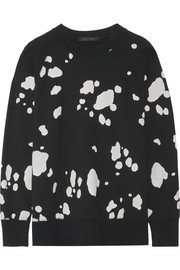 Marc Jacobs Printed cotton-jersey sweatshirt